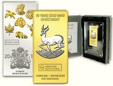 World Coin Bar 2011 Springbock Malawi 50 Kwacha 1 Unze Silber WCB Collection