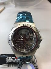 Sector 975 Chronograph Men's Swiss Made Gray Dial