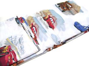 Pottery-Barn-Kids-Cotton-Disney-Pixar-Cars-Twin-Duvet-Cover-1-Pillowcase-New