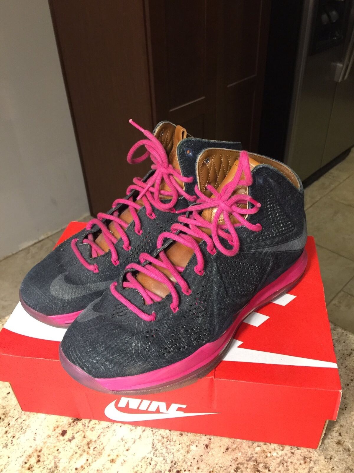 Lebron 10 Denims Size 10.5  Cheap and fashionable