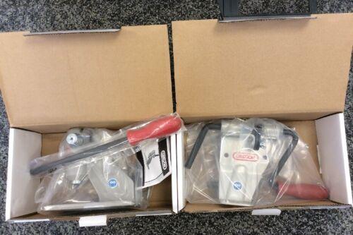 GENUINE OREGON STANDARD BENCH RIVET SPINNER and CHAIN BREAKER NEW IN BOXES