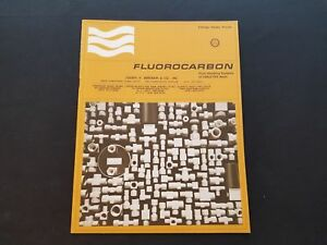 1970s Fluorocarbon Fittings, Valves & Pumps Catalog Price Guide EUC