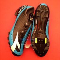 Diadora X-vortex Pro Mountain Bike Spd Shoes Black/blue Eu 45 Us 11