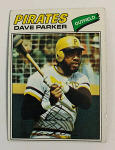 1977-Dave-Parker-270-Pittsburgh-Pirates-Topps-Baseball-Card-HOF