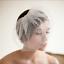 Wedding-headdress-Bridal-Feather-net-bow-Birdcage-Face-Veil-Fascinator-veils-cap thumbnail 2