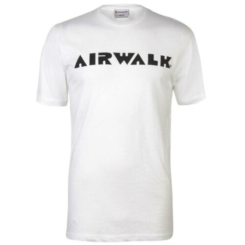 Airwalk T-shirt Herren Tshirt T Shirt Kurzarm Top Logo 1507