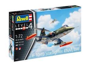 REVELL-1-72-LOCKHEED-F-104G-STARFIGHTER-RNAF-BAF-MODEL-AIRCRAFT-KIT-SET-03879