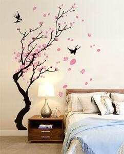 00728 wall stickers sticker adesivi muro murali rami con for Stencil adesivi