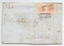 L276-LOMB.VENETO-LETTERA DA ROVIGO CON COPPIA 15 + 15 CENT