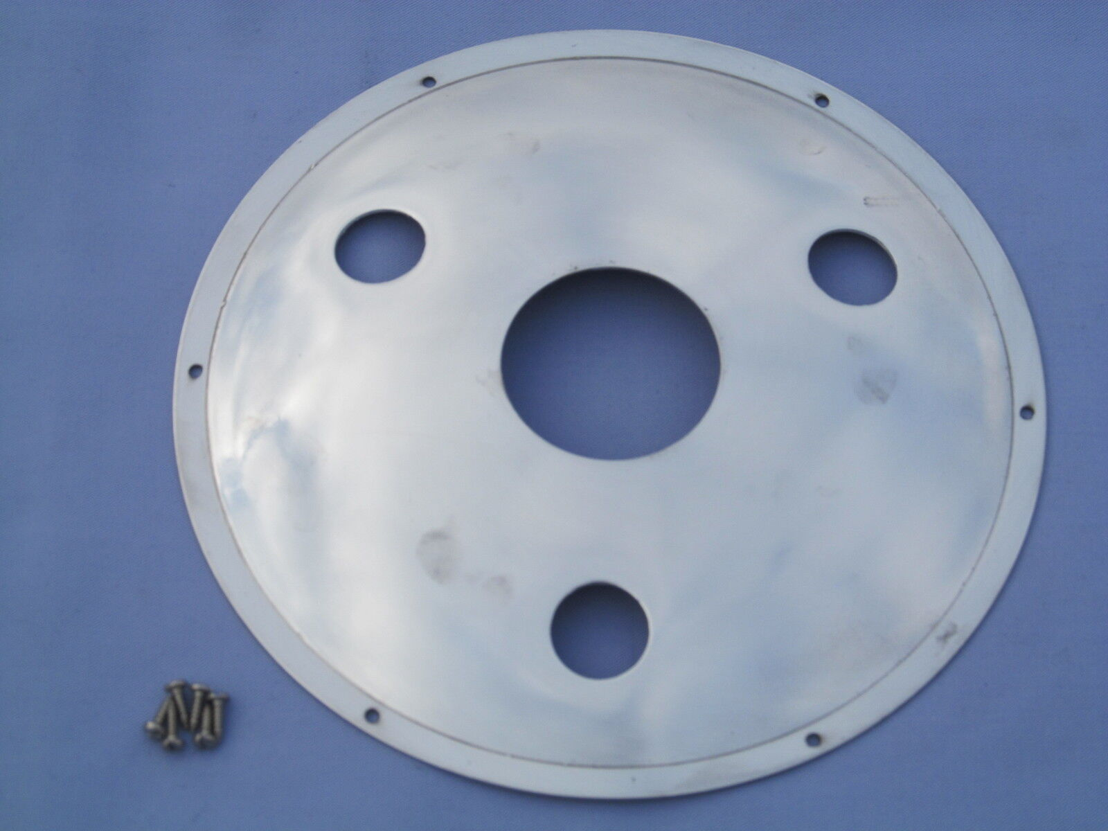 Motorcycle Parts Norton Commando Atlas Dominator rear drum hub cover 3 hole 06-7711 NM18348