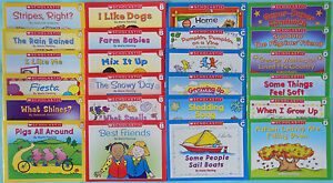 Scholastic-Little-Leveled-Readers-Learn-to-Read-Preschool-Kindergarten-Lot-24