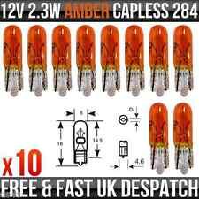 12v 2.3w kawasaki ZXR400 Dashboard Indicator Panel Flasher Amber Lamp R284A x 10