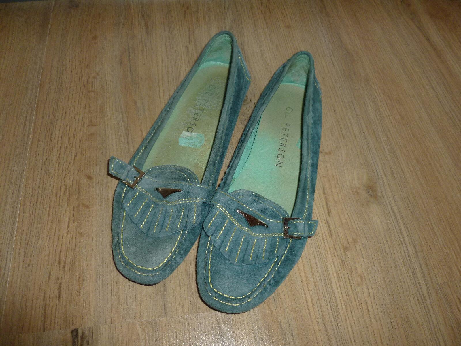 Ballerinas Schuhe türkis Gil Peterson Peterson Gil 38 77ee3b