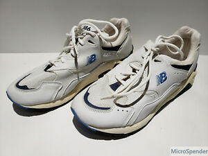 New-Balance-586-W586WB-Women-039-s-Running-Shoe-White-Blue-Size-9-Width-2A-Narrow