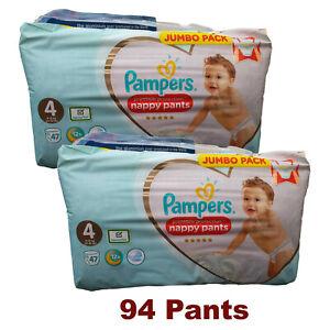 2019 Nouveau Style Pampers Baby Pantalon Taille 4 Culotte 9 - 15 Kg 2 X 47 Packs (94 Pantalons)-afficher Le Titre D'origine