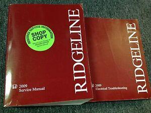 2009 honda ridgeline service shop repair workshop manual set w etm rh ebay com honda ridgeline repair manual free download honda ridgeline shop manual pdf