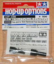 Tamiya 53590 Cup Joint For TB-01 Reinforced Front One-Way Unit (TB Evo III) NIP