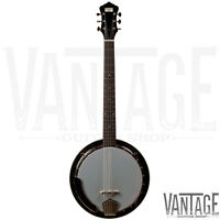 Recording King Rk-g25 Madison 6 String Banjo - Guitar Banjo - Banjitar