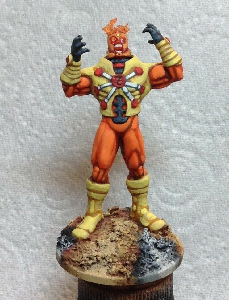 25mm 28mm well painted DC comics Firestorm Fury super hero champions