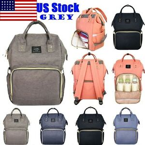 Image Is Loading Land Fashion Ny Mummy Backpack Diaper Bags Baby