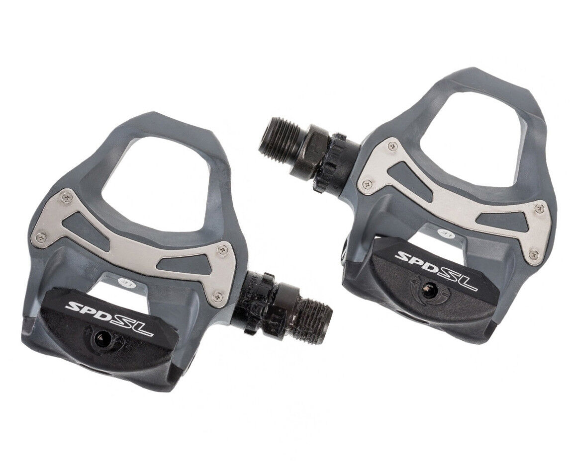SHIMANO SS17 Pedals SPD- SL R550 Grey  + Cleats  hottest new styles