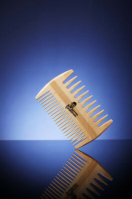 Comb by INFAMOUS GENTLEMAN - Mens Beard Grooming Beard Comb Wood Beard Care