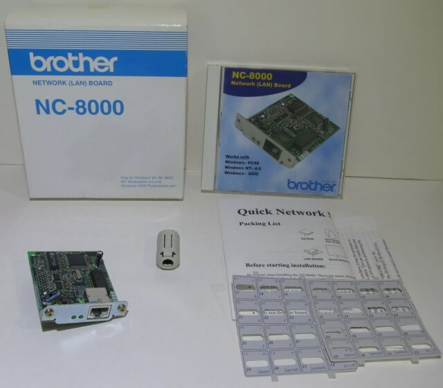 BROTHER NC-8000 DRIVER FOR WINDOWS 10