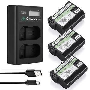 EN-EL15-Battery-amp-Dual-USB-Charger-For-Nikon-D7000-D7200-D7100-D800-D750-D600