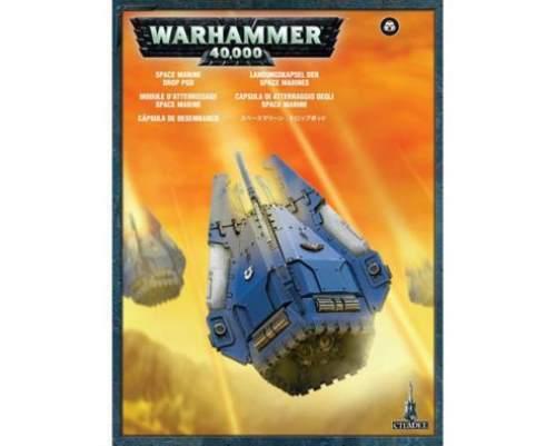 SPACE MARINE DROP POD 48-27 (Warhammer 40K 40,000) Brand New Factory Sealed