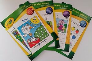 crayola children s basic skills activity books select book ebay