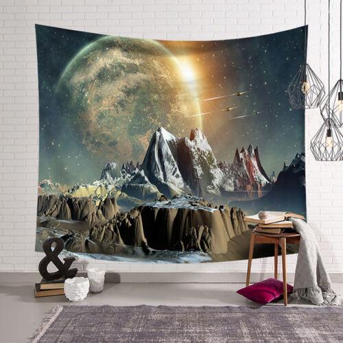 Tapestry Tarpaulin Art Wall Tapestry Home Decor Mural Beach Towel Galaxy