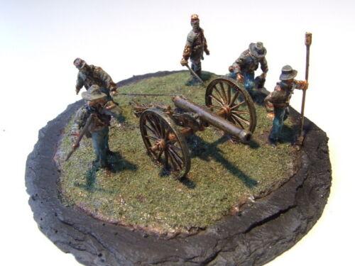 feuernd Maßstab 1:72 Amerik Bürgerkrieg CS-Artillerie