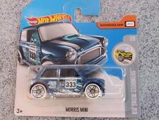 Hot Wheels 2017 #137/365 MORRIS MINI blue HW Snow stormers