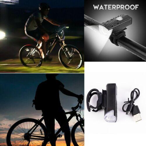LED USB Bycicle Light Headlamp Headlight Bike Front Lamp
