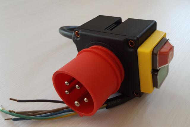 Schalter Motorschutzschalter 400V passend für LUMAG HOS Holzspalter Spalter