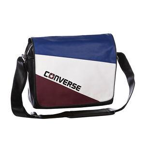 5c719d107c23 Image is loading Converse-Flap-Messenger-Tricolor-Bag-Blue