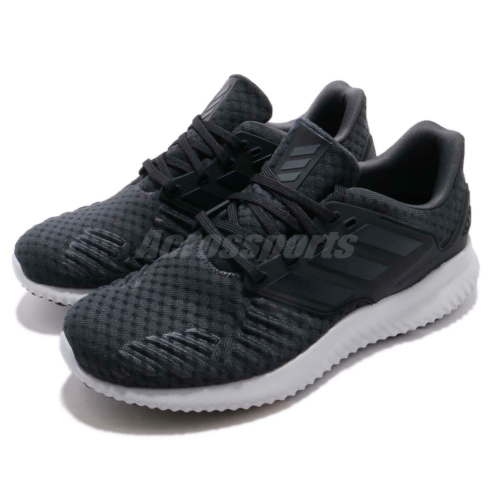 Adidas Alphabounce RC 2 M Carbon Black Men Running Training shoes Sneaker AQ0552