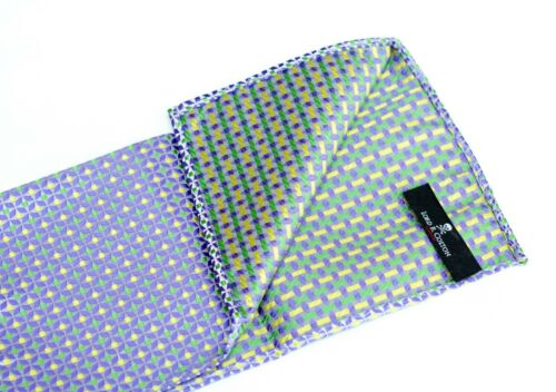 Herne Purple Silk $75 New Lord R Colton Masterworks Pocket Square