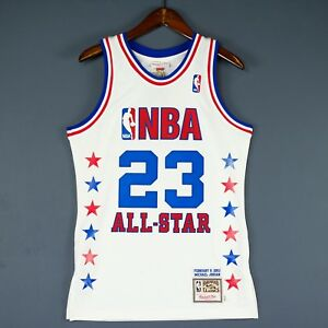 new product 6ab58 c28bc Details about 100% Authentic Michael Jordan Mitchell & Ness 03 2003 All  Star Jersey Size 36 S