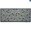 thumbnail 8 - Hug Rug Anti Viral Hygenic Bacteria Linen Light Grey Mushroom Daises Door Mat