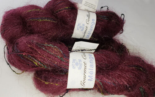 Knit One Crochet Too Gourmet Collection Melange Mohair Blend Single Skein