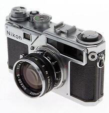 nikon sp 35mm rangefinder film camera with 50 mm lens kit ebay rh ebay com Nikon Digital Rangefinder Nikon Scope with Rangefinder
