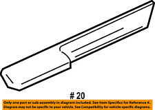Windshield Weatherstrip Inner for Jeep Wrangler 97-06 Unlimited 04-06 Crown