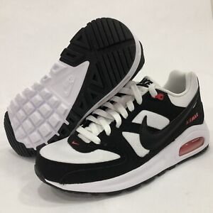 Details about Nike Air Max Command Flex Shoes White Black GS 844346 100 Womens 8.5 = Youth 7