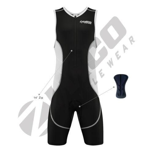 Zimco Elite Men Compression Triathlon Suit Racing Tri Suit Triathlon Short ZM787