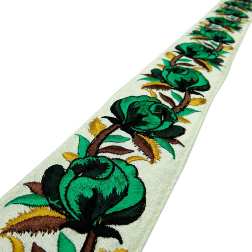 1 Yd Decorative Floral 5.8 Cm Wd Lace Fabric Trim Crafting Supply FT765D