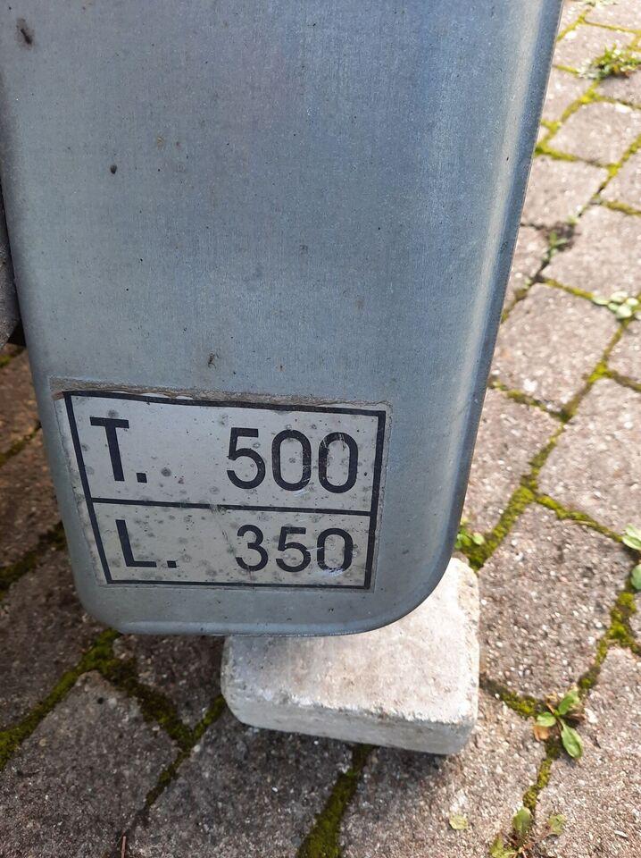 Trailer, variant , lastevne (kg): 500