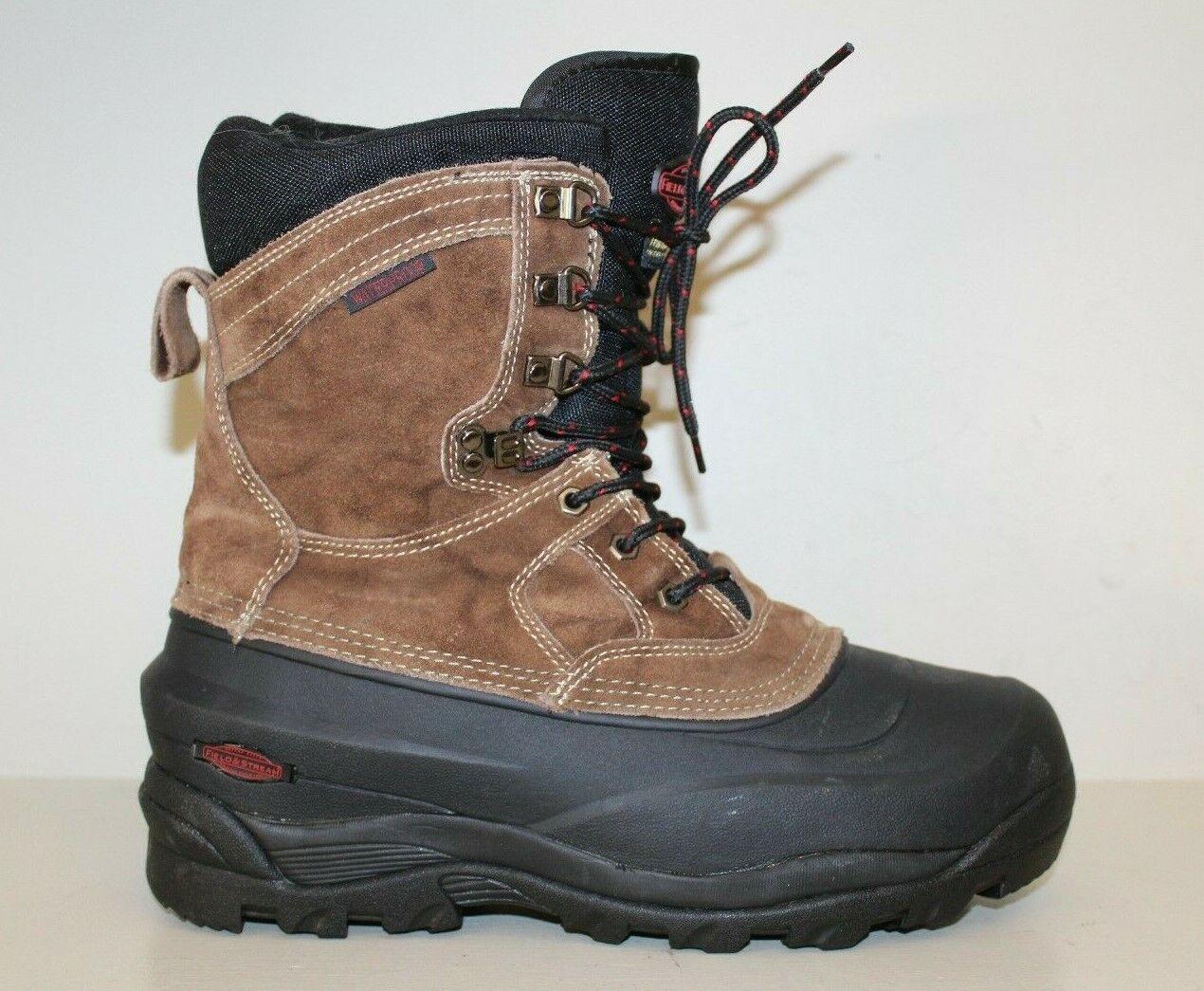 & Stream para hombre Ice Field Field RIO SC frío WP II Cazar botas Sz 10