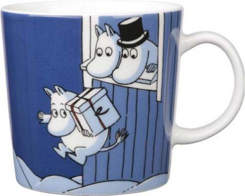 Moomin Mug Christmas Surprise Jouluyllätys 2009 Arabia
