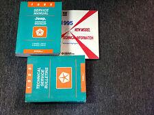 1995 JEEP CHEROKEE & WRANGLER Service Shop Repair Manual SET W Technical + Highl